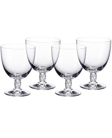 Villeroy & Boch Montauk Red Wine, Set of 4