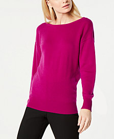 Trina Turk Lemon Drop Low-Back Sweater
