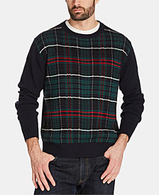 Weatherproof Vintage Men's Holiday Tartan Sweater