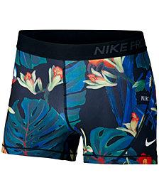 Nike Pro Ultra-Femme Printed Running Shorts