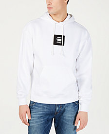 G-Star RAW Mens Box Logo Graphic Hoodie, Created for Macy's