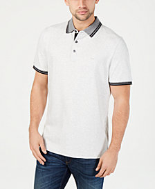 Michael Kors Men's Liquid Cotton Greenwich Polo Shirt