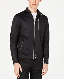 I.N.C. Men's Zip-Front Fight Jacket, Created for Macy's