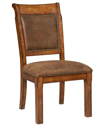 mandara side chair - furniture - macy's