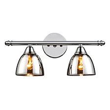 Reflections 2-Light Bath Bar In Polished Chrome