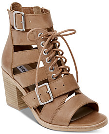 Steve Madden Women's Jackson Lace-Up Sandals