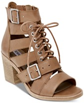 2ff4d8d3180 Steve Madden Women s Jackson Lace-Up Sandals