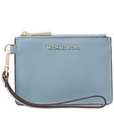 60dd38bab25a MICHAEL Michael Kors Mercer Pebble Leather Coin Purse