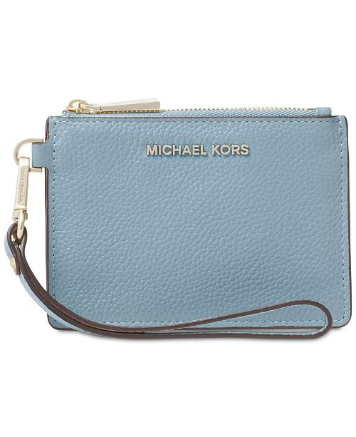 b7c5f145f1a1 Michael Kors Mercer Pebble Leather Coin Purse   Reviews - Handbags ...