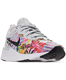 Nike Women's Odyssey React Graphic RS Running Sneakers from Finish Line