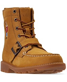 Polo Ralph Lauren Little Boys' Ranger High II Bear Boots from Finish Line