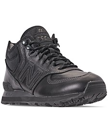 Men's 574 Mid Casual Sneakers from Finish Line