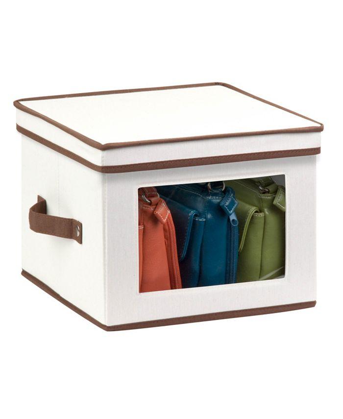 """Honey Can Do - 12"""" x 12"""" Window Storage Box"""