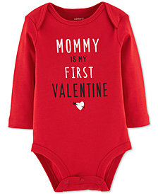 Carter's Baby Girls & Boys Mommy Valentine Cotton Jumpsuit