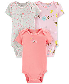 Carter's Little Planet Organics Baby Girls 3-Pk. Printed Cotton Bodysuits