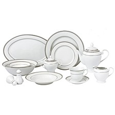 Ashley 57-PC Dinnerware Set, Service for 8
