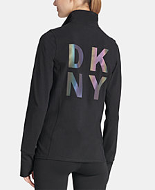 DKNY Sport Iridescent-Logo Jacket, Created for Macy's
