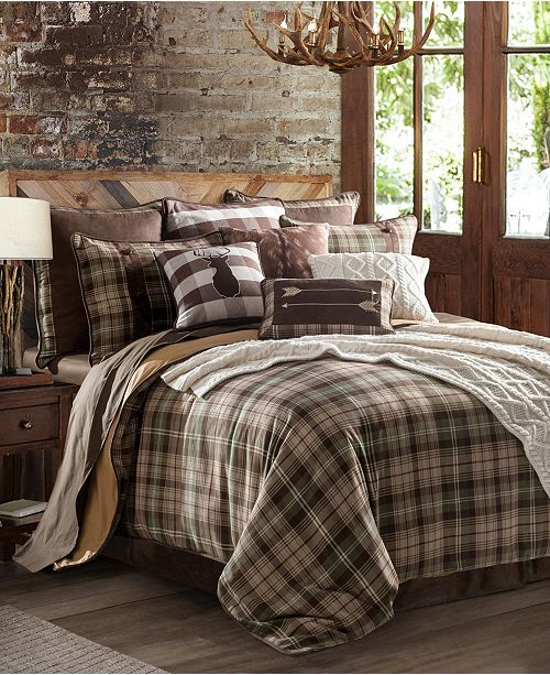 HiEnd Accents Huntsman 3-Pc Twin Comforter Set