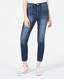 Indigo Rein Juniors' Cropped Skinny Jeans