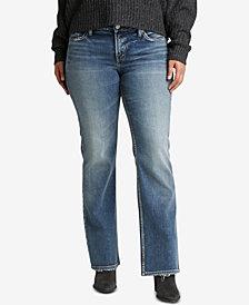 Silver Jeans Co. Plus Size Suki Curvy-Fit Bootcut Jeans