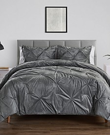 Carmen Twin Kiss Pleat Comforter