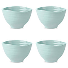 Portmeirion Sophie Conran Celadon Small Footed Bowl Set of 4