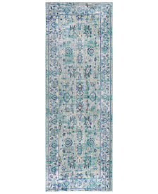 "Surya Germili GER-2301 Emerald 2'11"" x 7'10"" Runner Area Rug"