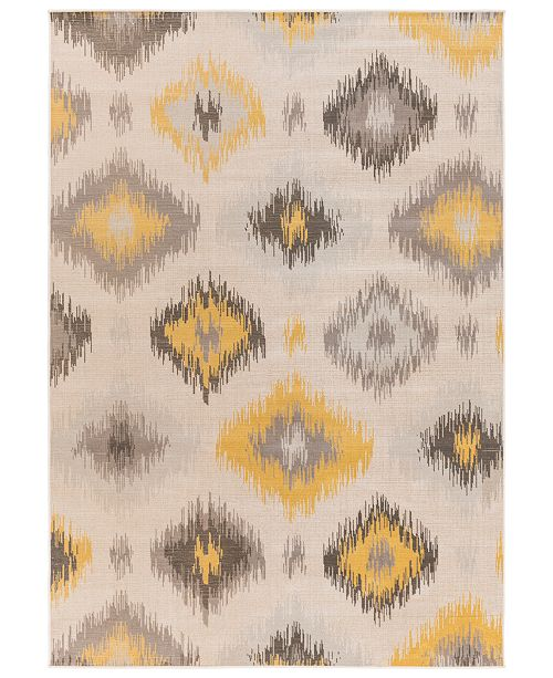 "Surya CLOSEOUT! Mavrick MAV-7009 Wheat 5'3"" x 7'6"" Area Rug"