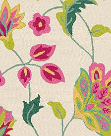 "Surya Rain RAI-1265 Bright Pink 18"" Square Swatch"