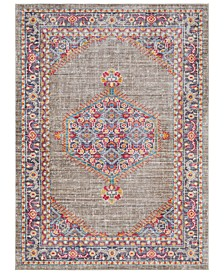 "CLOSEOUT!  Germili GER-2314 Violet 3'11"" x 5'7"" Area Rug"