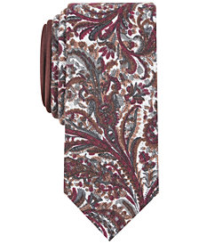Tallia Men's Gilbert Floral Slim Tie