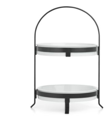 2-Tier Round Server, Created for Macy's