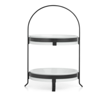 The Cellar 2-Tier Round Server, Created for Macy's