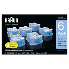 Braun CCR6 Clean and Renew Cartridge 6ct