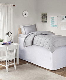 "Intelligent Design Extended Twin XL Drop 36"" Dorm Bedskirt"