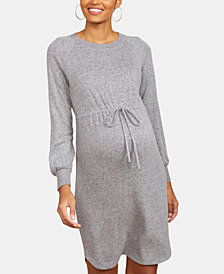 Motherhood Maternity Tie-Front Dress
