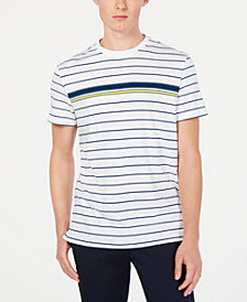 Calvin Klein Men's Engineered Stripe T-Shirt