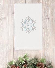 Linum Home Christmas Crystal 100% Turkish Cotton Hand Towel
