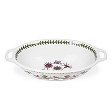 Botanic Garden Handled Oval Bowl