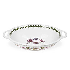 Portmeirion Botanic Garden Handled Oval Bowl