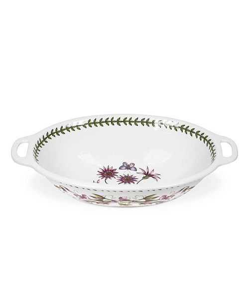 Portmeirion Botanic Garden Handled Oval Bowl