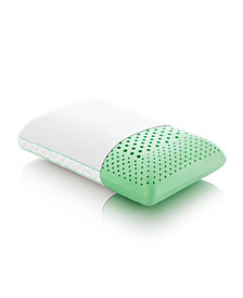 Z Zoned Peppermint Mid Loft Pillows with Aromatherapy Spray Collection