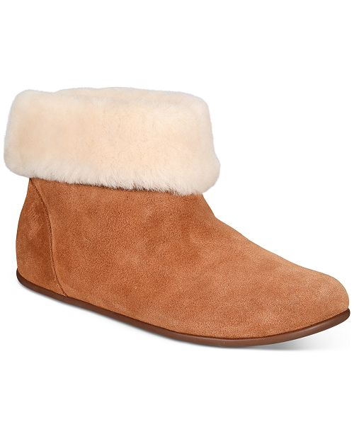 san francisco 6aed0 a939f FitFlop Sarah Shearling Booties & Reviews - Boots - Shoes ...