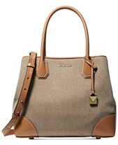 283558017ee9 MICHAEL Michael Kors Mercer Gallery Canvas Center Zip Tote