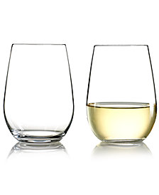 Riedel Wine Glasses, Set of 2 O Riesling & Sauvignon Blanc Tumblers