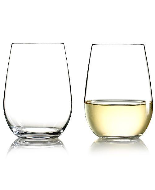 bb4a3138e3b Wine Glasses, Set of 2 O Riesling & Sauvignon Blanc Tumblers