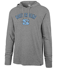 '47 Brand Men's North Carolina Tar Heels Long Sleeve Focus Hooded T-Shirt
