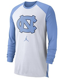 Nike Men's North Carolina Tar Heels Breathe Shooter Long Sleeve T-Shirt