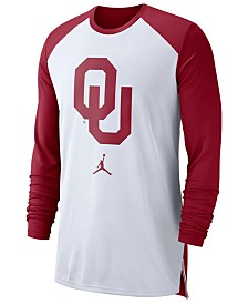 Nike Men's Oklahoma Sooners Breathe Shooter Long Sleeve T-Shirt