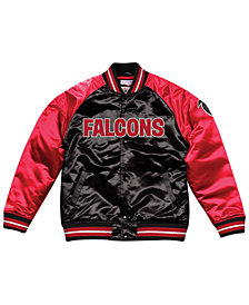 Mitchell & Ness Men's Atlanta Falcons Tough Season Satin Jacket